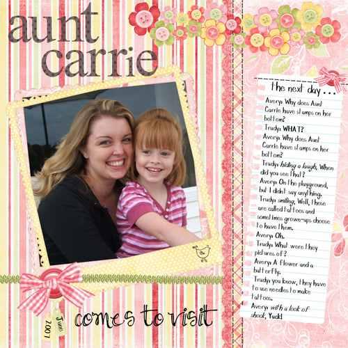 Auntcarriestamps